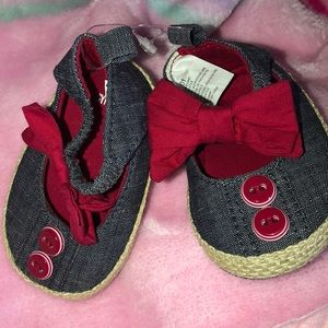 Gymboree baby girl shoes